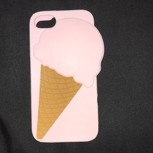 Other - pink iphone 7 ice cream case 🍦